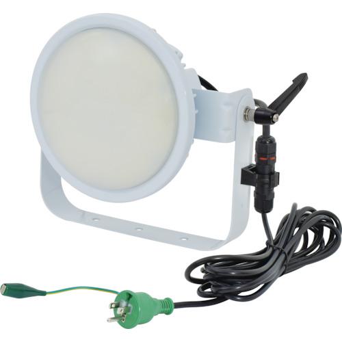 ■日動 ハイスペックハイディスク70W 電源装置内蔵型 昼白色 投光器型 乳白〔品番:L70B-D-HM110-50K〕[TR-1620513][送料別途見積り][法人・事業所限定][掲外取寄]