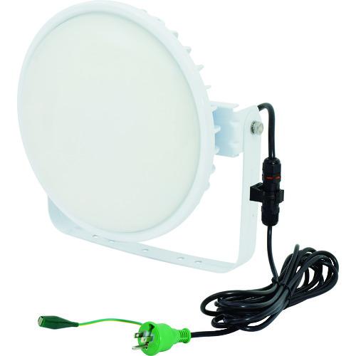 ■日動 ハイスペックハイディスク200W 電源装置内蔵型 昼白色 投光器型 乳白〔品番:L200B-D-HM110-50K〕[TR-1622079][送料別途見積り][法人・事業所限定][掲外取寄]
