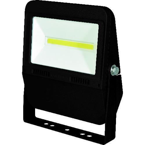 ■日動 LED投光器 常設用フラットライト30W 本体黒 昼白色 SP付〔品番:LJS-F30D-BK-50K〕[TR-1622106][送料別途見積り][法人・事業所限定][掲外取寄]