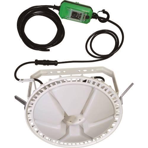 ■日動 LED投光器 ディスクバルーン300W 調光式 200V仕様〔品番:L300W-AB-50K-200V〕[TR-1623647][送料別途見積り][法人・事業所限定][掲外取寄]