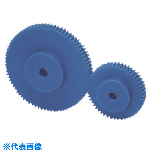 ■KHK プラスチック平歯車PSA2.5-45J20  〔品番:PSA2.5-45J20〕[TR-1625907]