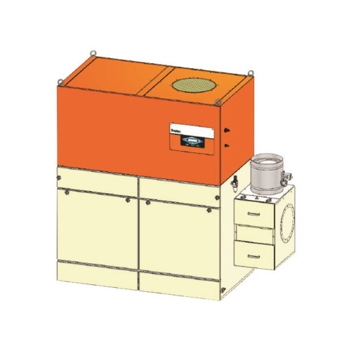 ■スイデン 集塵機(ヒューム用)自動塵落とし5.5kw60Hz〔品番:SDC-L5500BPN3-6〕[TR-1631854 ]【送料別途お見積り】