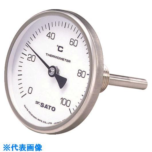 ■佐藤 バイメタル式温度計BM-T-75S-30~50℃150L(2110-14)  〔品番:BM-T-75S-3〕[TR-1664330]