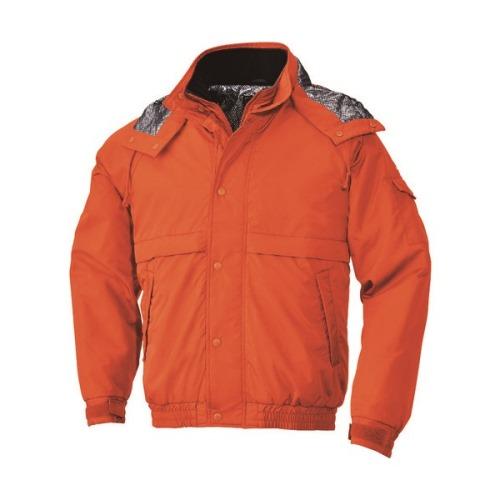 ■BIGBORN 防寒ジャケット オレンジ 5L  〔品番:8386-35-5L〕[TR-1665959]「送料別途見積り」・「法人・事業所限定」・「外直送」