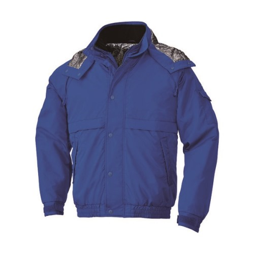 ■bigborn 防寒ジャケット ブルー S〔品番:8386-50-S〕[TR-1665996 ]【送料別途お見積り】