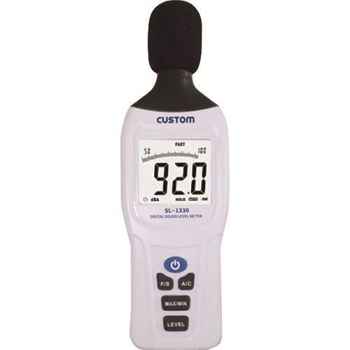 ■緑十字 デジタル騒音計 ハンディタイプ W62×H188×D32mm〔品番:249007〕[TR-1668904]【個人宅配送不可】