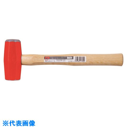 ■OH 石刃ハンマーPX柄付1.1KG 12丁入 〔品番:SH-11PX〕[TR-1669293×12]