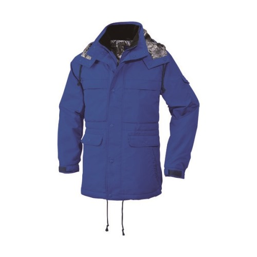 ■bigborn 防寒コート ブルー 5L〔品番:8385-50-5L〕[TR-1670749 ]【送料別途お見積り】