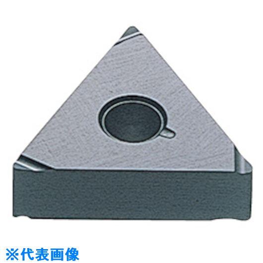 ■三菱 P級超硬旋削チップ HTI10《10個入》〔品番:TPGH080202R-FS〕[TR-1671961×10]