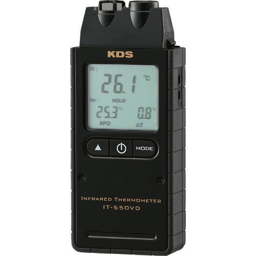 ■KDS 赤外線放射温度計550VD  〔品番:IT550VD〕[TR-1672438]