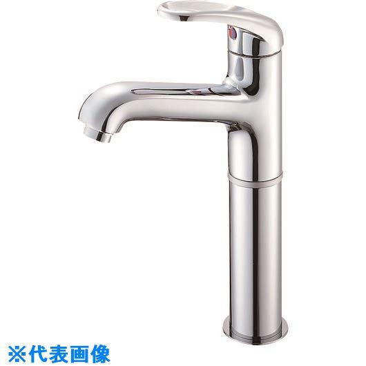 ■SANEI シングルワンホール洗面混合栓〔品番:K4710NJK-2T-13〕[TR-1673852]
