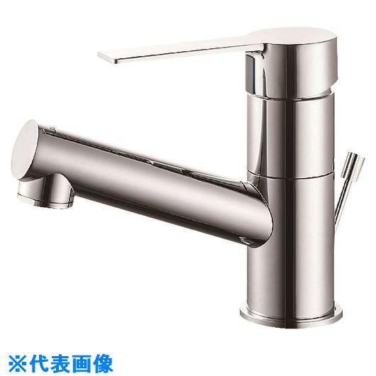 ■SANEI シングルワンホール洗面混合栓〔品番:K475PJVZ-1-13〕[TR-1675340]