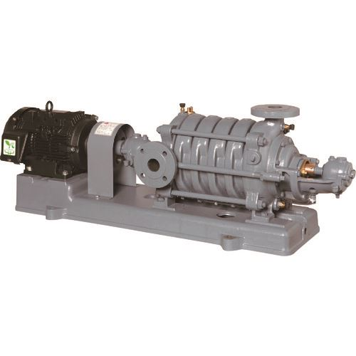 ■エバラ MS型多段渦巻ポンプ 60Hz 口径125  〔品番:125MS3522B〕外直送[TR-1678130]【大型・重量物・送料別途お見積り】