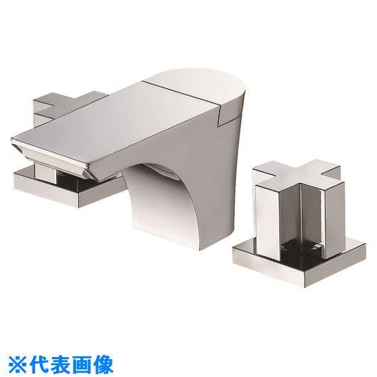 ■SANEI ツーバルブ洗面混合栓〔品番:K5580PK-13〕[TR-1678542]