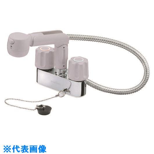 ■SANEI ツーバルブスプレー混合栓〔品番:K31VR-LH-13〕[TR-1681718]