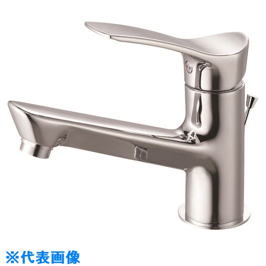 ■SANEI シングルワンホール洗面混合栓〔品番:K4712PJV-13〕[TR-1683346]