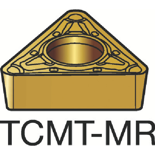 ■サンドビック コロターン107 旋削用ポジ・チップ 2025 2025 10個入 〔品番:TCMT〕[TR-1721801×10]