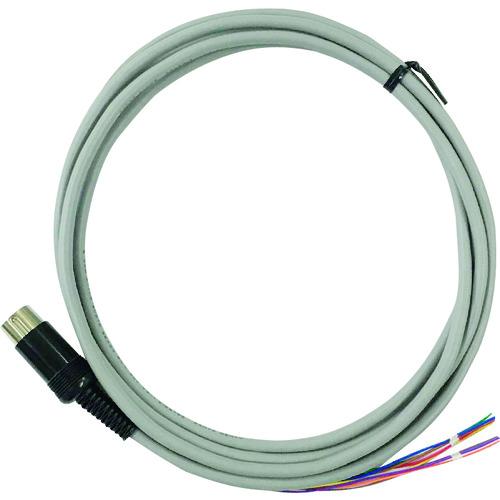 ■A&D 接続ケーブル(DIN8~バラ線、2M) AX-KO5862-S200  〔品番:AX-KO5862-S200〕外直送[TR-1792614]