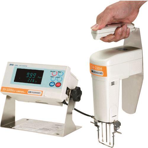 ■A&D 音叉振動式粘度計 SV100H 一般校正付〔品番:SV100H-00A00〕[TR-1795479]【個人宅配送不可】