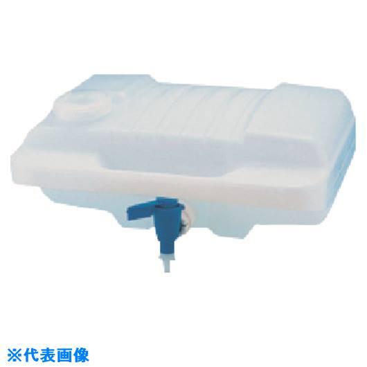 ■TGK 活栓付き横型びん 8L HDPE〔品番:656-21-46-14〕[TR-1847184]