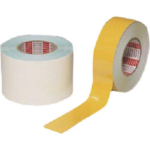 ■つくし 平滑床面ラインテープ 100MM幅×50M 白〔品番:TP-131W〕[TR-1847782]「送料別途見積り」・「法人・事業所限定」・「外直送」