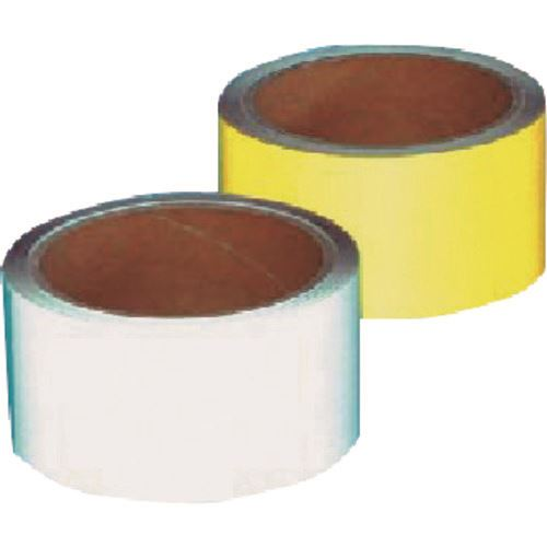 ■つくし コンクリート用反射テープ 50MM幅×10M 黄  〔品番:TP-501Y〕[TR-1847805]