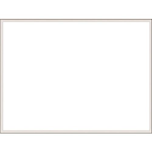 ■つくし ホーローホワイトボード 無地 横型 粉受け付  〔品番:B-260〕[TR-1849574]【大型・重量物・個人宅配送不可】