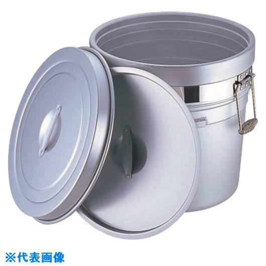 ?TKG オオイ金属 アルマイト 段付二重食缶 (大量用) 250-A (20l) 〔品番:ASYA001〕掲外取寄[TR-1878336]