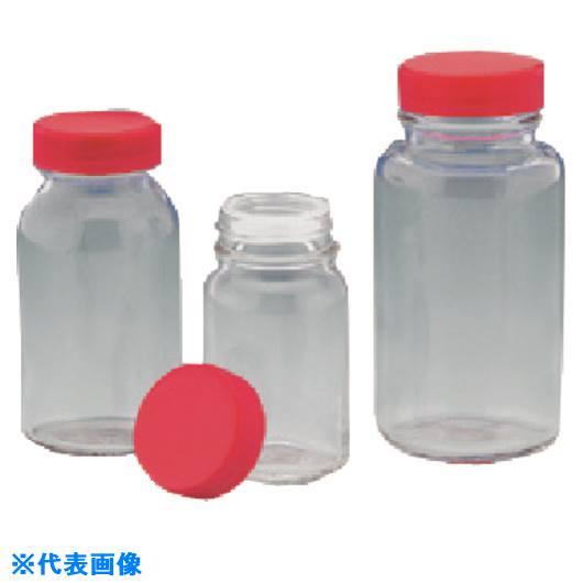 ■TGK 規格瓶 白 7K 赤CAP栓付75.5ML210本  〔品番:323-05-84-18〕[TR-1893024]「送料別途見積り」・「法人・事業所限定」・「掲外取寄」