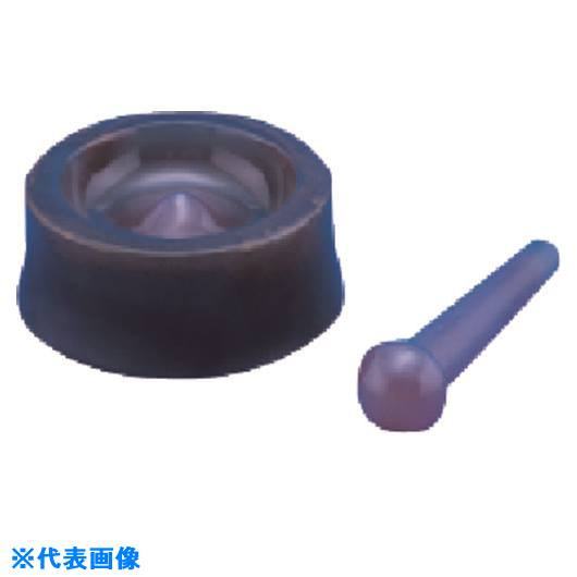 ?TGK ロータリー型メノー乳鉢 NS-120 〔品番:034-54-36-02〕[TR-1911186]