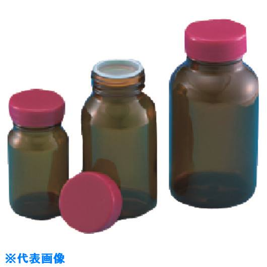 ■TGK 規格瓶 茶 6K 赤CAP栓付61.5ML240本〔品番:323-05-84-36〕[TR-1913345][送料別途見積り][法人・事業所限定][掲外取寄]