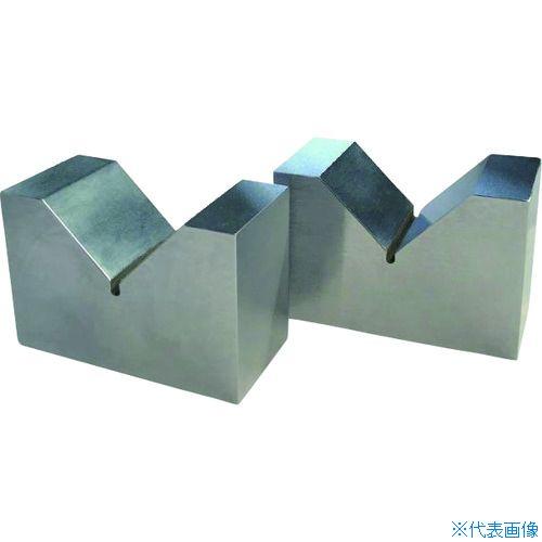 ■OSS 硬鋼製Vブロック 100 焼入  〔品番:128-100〕[TR-1950012]【送料別途お見積り】