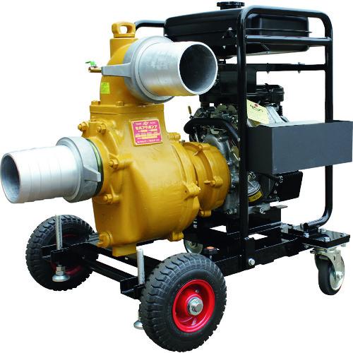 ■寺田 緊急排水用エンジンポンプ  〔品番:E-7N5〕直送[TR-1954013]【大型・重量物・送料別途お見積り】