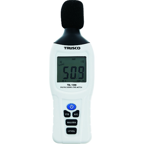 ■TRUSCO デジタル騒音計〔品番:TSL-1330〕[TR-1977458]