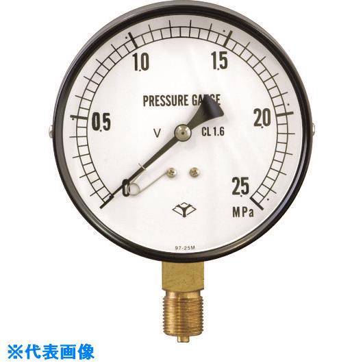 ■アサダ Φ100MM圧力計2.5MPA TP50N・TP50B用  〔品番:TP634〕[TR-1980571]