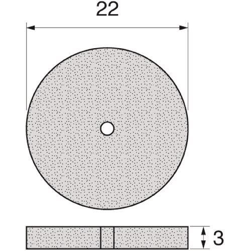 アルゴフアイルジヤパン 153850 マイクログラインダー用アタッチメント 誕生日 お祝い ■アルゴファイル パワーポリッシャーホイール 品番:ERP2151 法人 TR-1983898 事業所限定 送料別途見積り 返品不可 掲外取寄