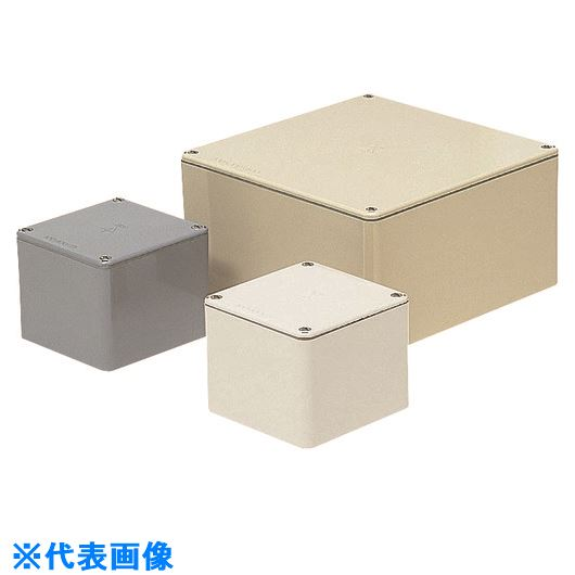 ■未来 防水プールボックス(平蓋)正方形  〔品番:PVP-5020A〕[TR-1990428]