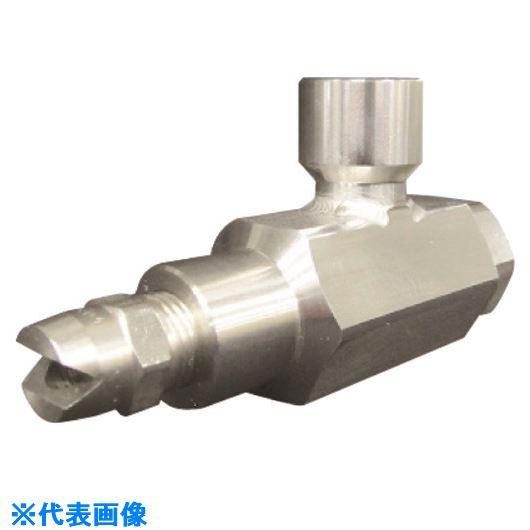 ■いけうち 超低圧扇形2流体ノズル BAVVシリーズ ステンレス鋼303製  〔品番:BAVV〕[TR-1992734]