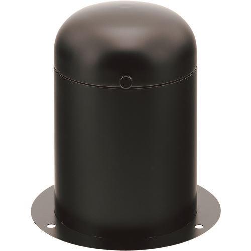 ■カクダイ 立型散水栓ボックス(ブラック)  〔品番:626-138-D〕[TR-1998710]