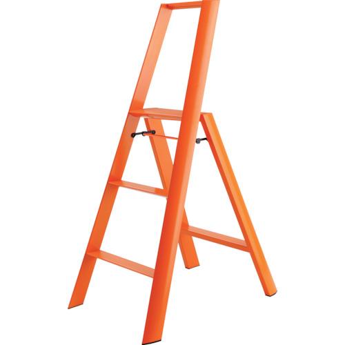 ■ハセガワ ルカーノ 3ステップ オレンジ(16725)  〔品番:ML2.0-3(OR)〕[TR-2012127]【大型・重量物・送料別途お見積り】