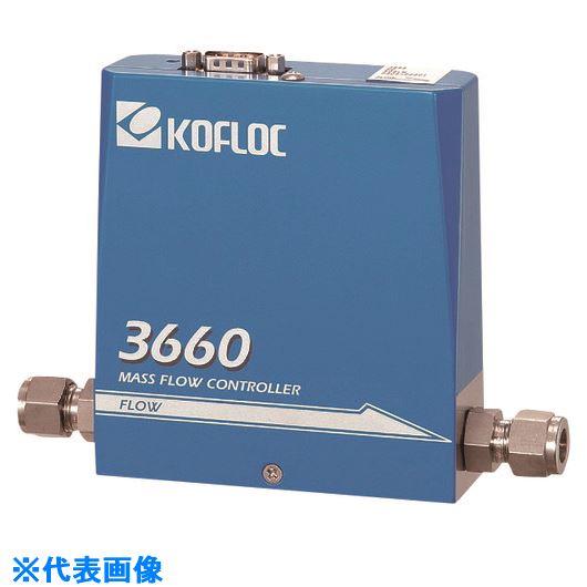 ■コフロック スタンダードマスフローコントローラ MODEL 3660 SERIES  〔品番:3665-RC1/4-HE-50SLM-0C〕[TR-2022681]