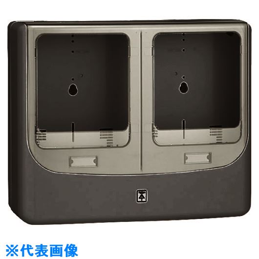 ■未来 電力量計ボックス(バイザー付)  〔品番:WPN-3WVK-Z〕[TR-2035699]