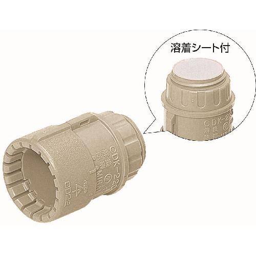■未来 PF管コネクタ 200個入 〔品番:MFSK-16GA〕[TR-2039625×200]
