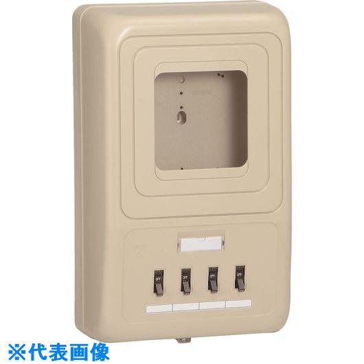 ■未来 電力計ボックス(ブレーカ付)  〔品番:WP4-304J〕[TR-2046096]