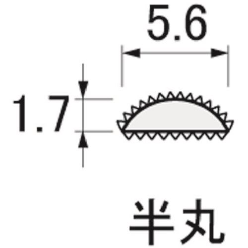 ■アルゴファイル ベンディングヤスリ(曲がるヤスリ) 6本入り  〔品番:BHA0656〕[TR-2047792]