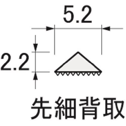 ■アルゴファイル ベンディングヤスリ(曲がるヤスリ) 6本入り  〔品番:BSS0656〕[TR-2047818]