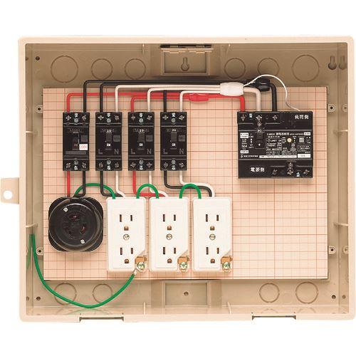 ■未来 屋外電力用仮設ボックス  〔品番:14-31HC〕[TR-2049347]