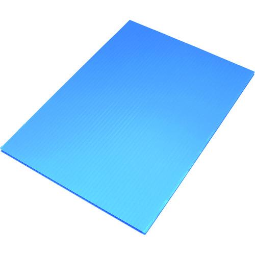 ■住化 プラダン サンプライHP30050 3×6板ライトブルー 10枚入 〔品番:HP30050-LB〕外直送元[TR-2049574×10]【大型・重量物・個人宅配送不可】