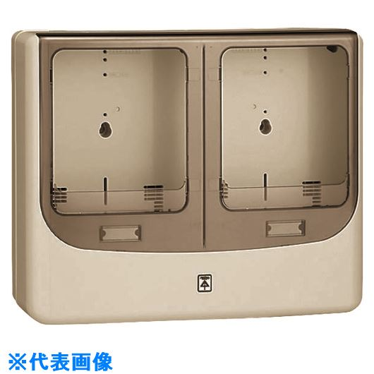 ■未来 電力量計ボックス(バイザー付)  〔品番:WPN-3WJ-Z〕[TR-2051422]