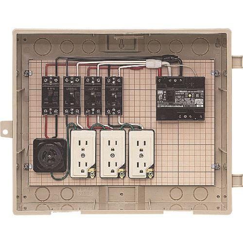 ■未来 屋外電力用仮設ボックス  〔品番:C14-31HC〕[TR-2054066]